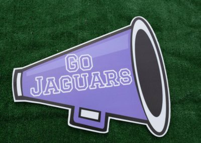 Jaguars Cheer Spirit Yard Sign