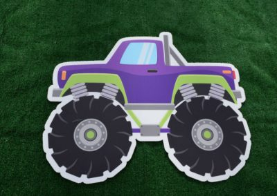 Monster Truck Boys Birthday Yard Sign