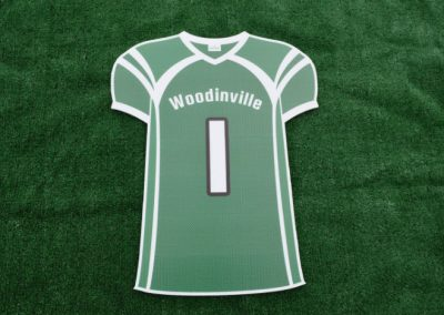 Woodinville High School Falcons Sports Jersey Yard Sign