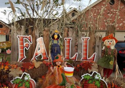 Fall Pumpkins Yard Signs