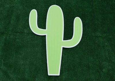 Cactus Yard Sign