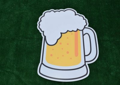 Large Beer Mug Yard Sign