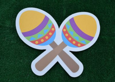 Maraca Shakers Yard Sign