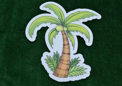 Palm Tree Yard Sign