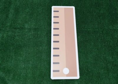 School Supplies Ruler Yard Sign