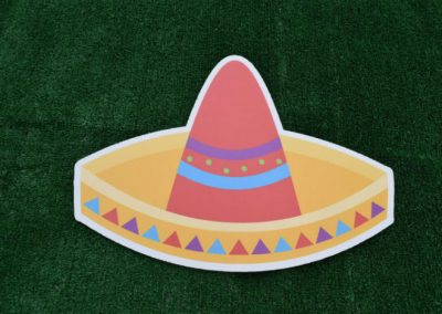 Sombrero Yard Sign