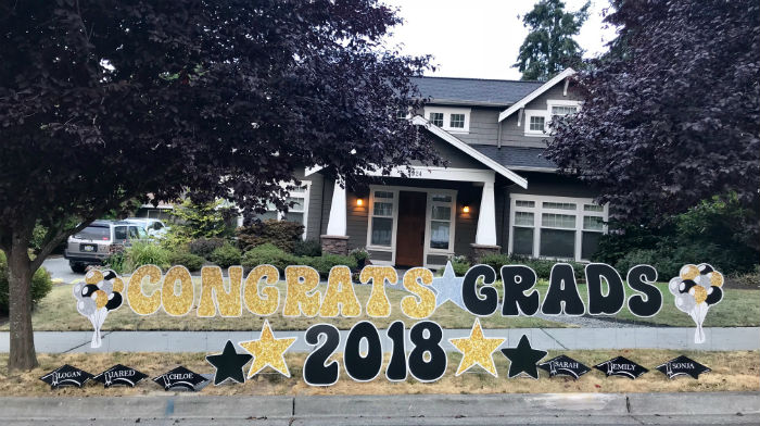 Graduations Signs, Birthday Signs, New Baby Stork Signs – We've Got a Sign for You No Matter What the Occasion!