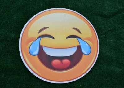 LOL Laughing Out Loud Emoji Yard Sign