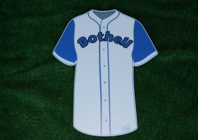 Bothell Cougars Baseball Jersey Yard Sign