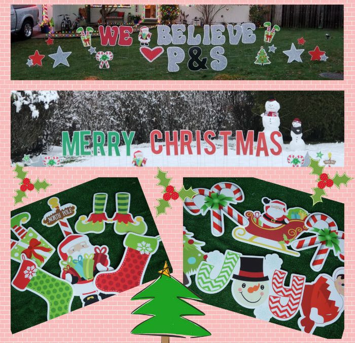 Tis the Season to Celebrate with a Holiday Yard Greeting or some Birthday Yard Signs if you Prefer!