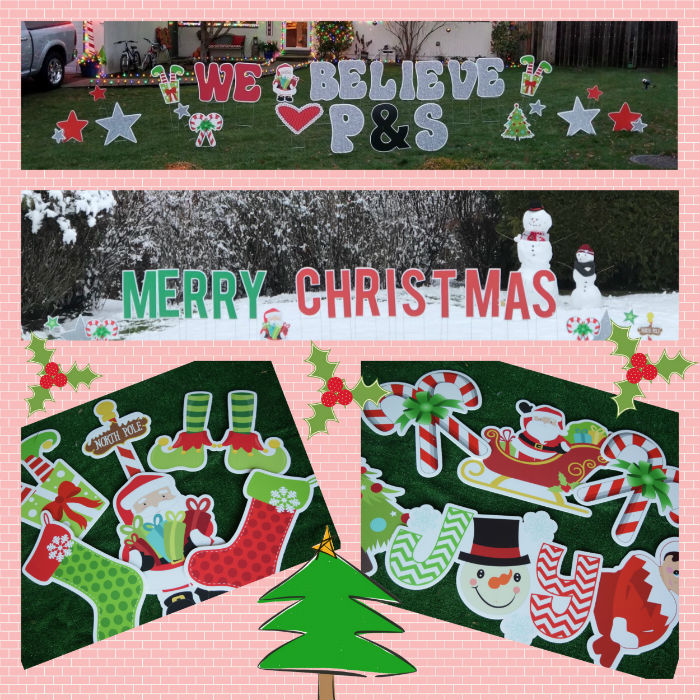 Christmas Yard Signs