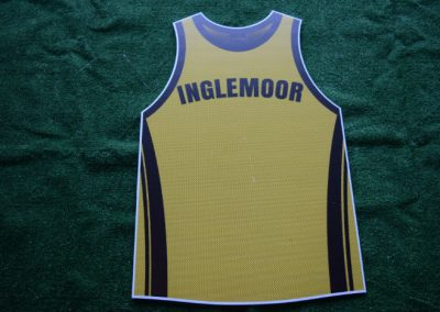 Inglemoor Vikings Basketball Jersey Yard Sign