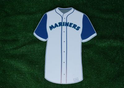 Seattle Mariners Baseball Jersey Yard Sign