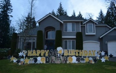 40th Birthday Yard Signs Make AWESOME Party Decorations and Fun Gift Ideas!