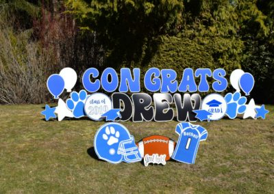 Bothell High School Graduation Yard Signs