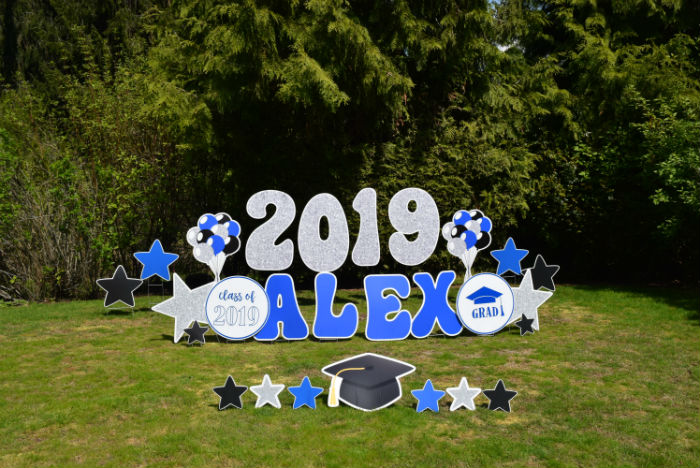 Graduation 2019 Big Numbers Yard Signs