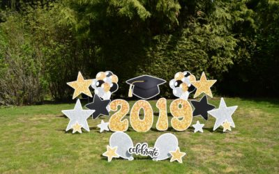 Yard Announcements can help make your life a little easier during Grad Season – let us help you decorate for the GRAD PARTY with our Graduation Yard Signs!