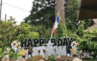 Birthday Yard Signs in WA State – A New FUN Way to Help Celebrate a Birthday!