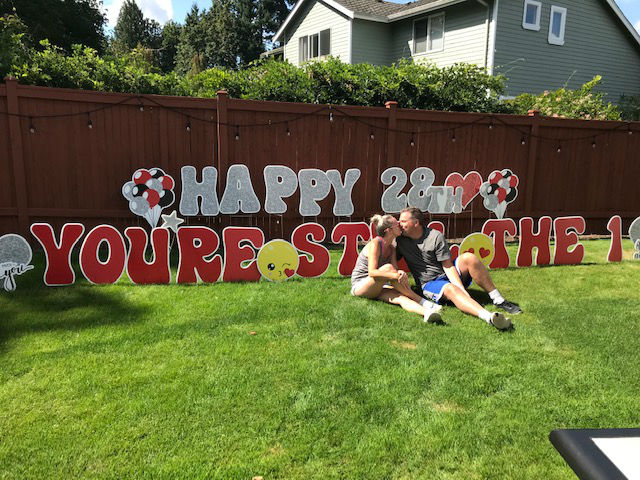 Yard Announcements Can Help You Let Them Know How Much You LOVE Them With Our Amazing Anniversary Yard Signs!