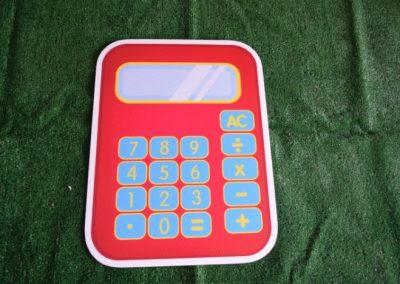 calculator back to school yard sign