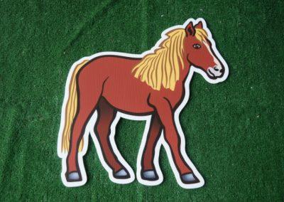 horse yard sign