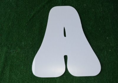 L-11 White Letter Signs