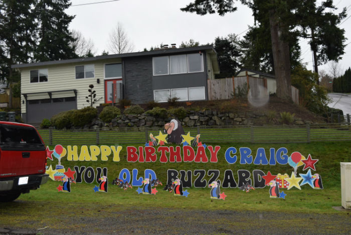 Celebrating Someone Who is Over the Hill? Yard Announcements has Some Awesome Birthday Yard Signs for your 40th or 50th Birthday!