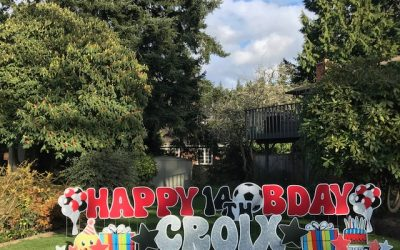 Go BIG and BOLD with Birthday Yard Signs by Yard Announcements! We Love to Help you Celebrate!!!