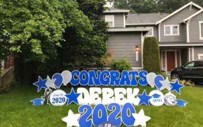 Proud of your 2021 Grad? Show them how much with a Graduation Yard Sign by Yard Announcements!
