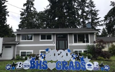 Celebrate your Grad in a BIG way with Class of 2021 Graduation Yard Signs by Yard Announcements