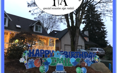 Have a Birthday Parade Celebration Coming Up? Yard Announcements has Awesome Birthday Yard Signs to Help you Celebrate BIG!!!