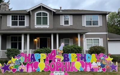 How to Plan a BIG Themed Birthday Party Bash! PS Don't Forget the Birthday Yard Signs!